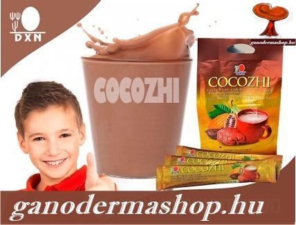 Cocozhi kakaó Pecsétviaszgombás csokoládé ital koffeinmentes