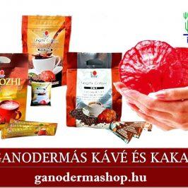 Ganodermás kávé és kakaó ganodermashop.hu