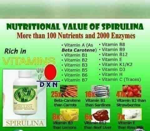 Spirulina hatása, vitamintartalma, tápanyagtartalma